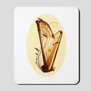 Pedal Harp Mousepad