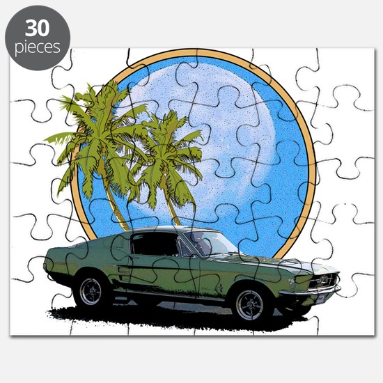 67 Mustang Puzzle