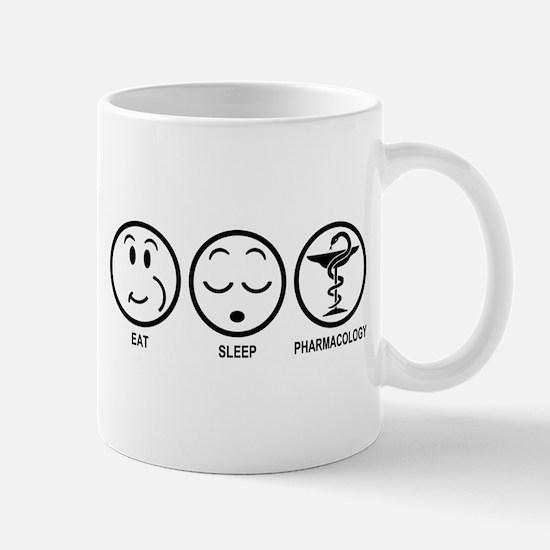 Eat Sleep Pharmacology Mug