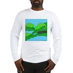 Adopted (no text) Long Sleeve T-Shirt