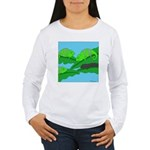 Adopted (no text) Women's Long Sleeve T-Shirt