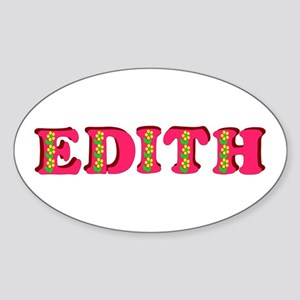 Edith Sticker (Oval)
