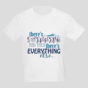 Swimming is Everything Kids Light T-Shirt
