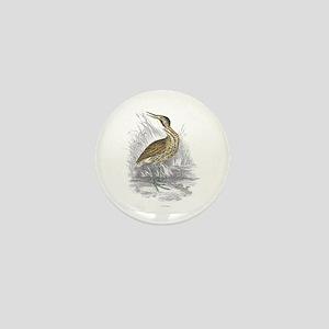 Bittern Bird Mini Button