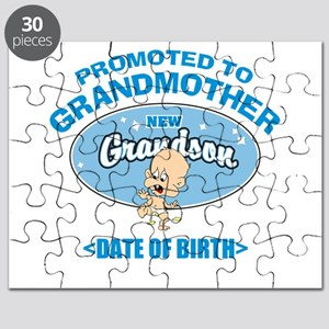 Funny New Grandmother Personalized Puzzle