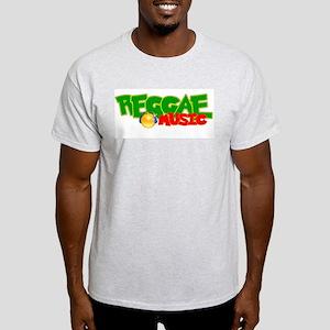 Reggae Music Ash Grey T-Shirt