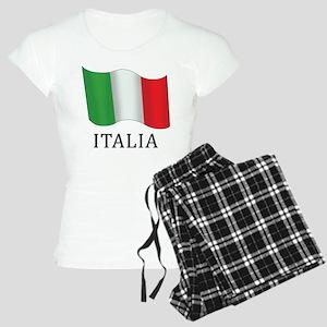 Italia Flag Women's Light Pajamas