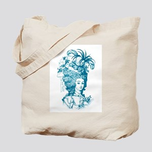French Aristocrat (teal) Tote Bag