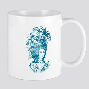 French Aristocrat (teal) Mug