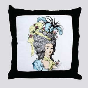 French Aristocrat Throw Pillow