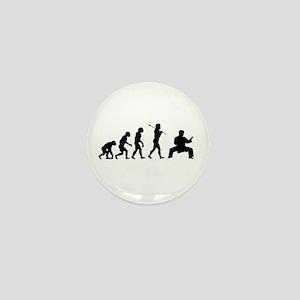 Karate Evolution Mini Button