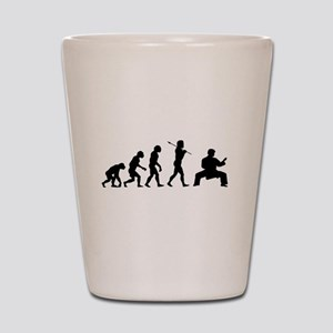 Karate Evolution Shot Glass
