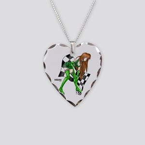 Pitstop Naomi Necklace Heart Charm