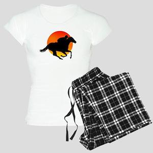 Horse Racing Women's Light Pajamas