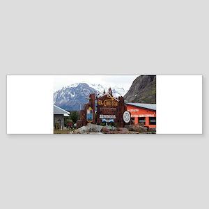 El Chalten, Patagonia, Argentina Bumper Sticker