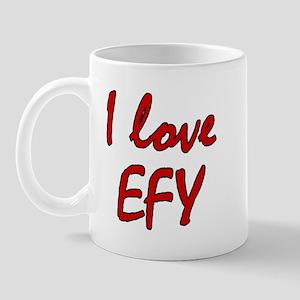 I love EFY Mug