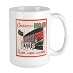 Small Cast Party Christmas Mugs