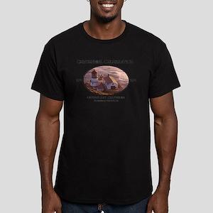 Antonio Bay Men's Fitted T-Shirt (dark)