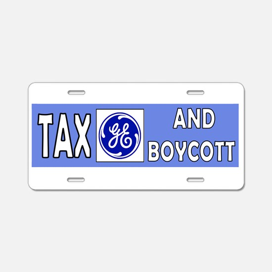 Unique Occupy wall street Aluminum License Plate