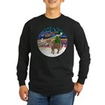 XmasMagic/Shetland Pony Long Sleeve Dark T-Shirt