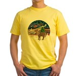 XmasMagic/Shetland Pony Yellow T-Shirt
