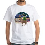 XmasMagic/Shetland Pony White T-Shirt