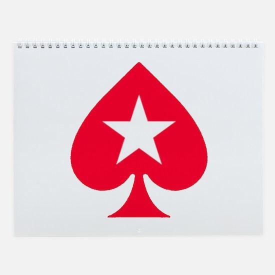 PokerStars Christmas Star Wall Calendar