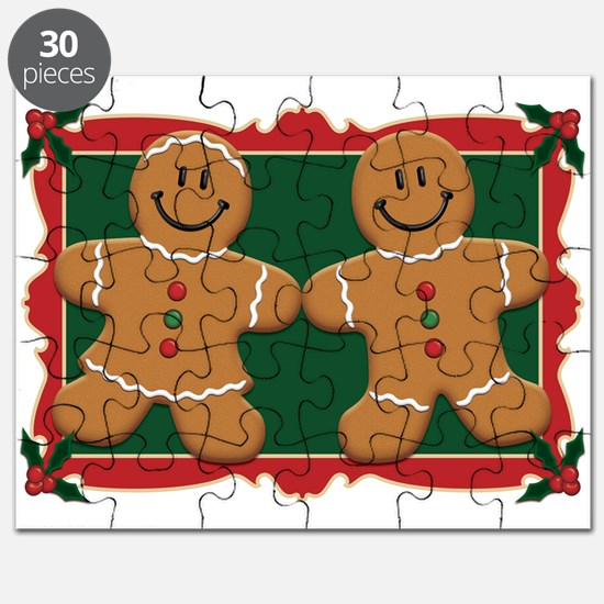Gingerbread Couple Puzzle