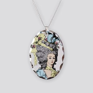 French Aristocrat Necklace Oval Charm