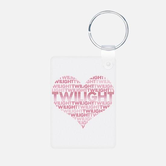 Twilight Heart Keychains