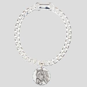 Horses Charm Bracelet, One Charm