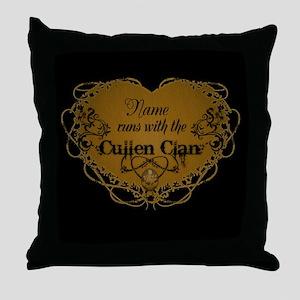 Cullen Clan Throw Pillow