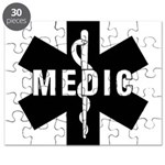 Medic EMS Star Of Life Puzzle
