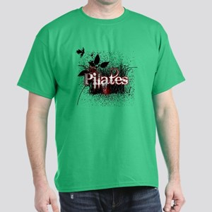 PIlates Leaves of Grass by Svelte.biz Dark T-Shirt