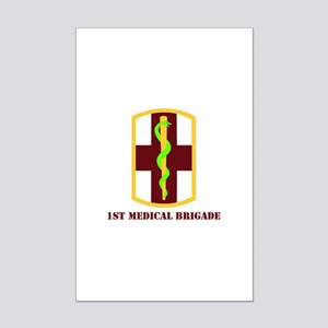 SSI - 1st Medical Bde with Text Mini Poster Print