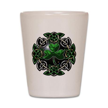 St. Patrick's Day Celtic Knot Shot Glass