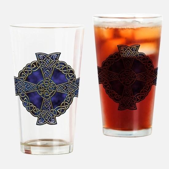 Celtic Cross Drinking Glass