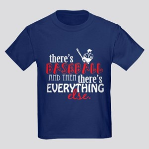 Baseball is Everything Kids Dark T-Shirt