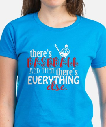 Baseball is Everything Women's Dark T-Shirt