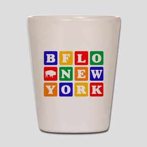 BFLO NEW YORK Shot Glass
