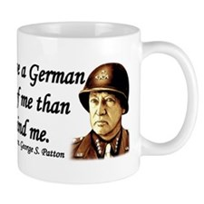 Patton Quote - German division in front of me Mug