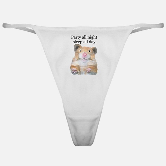 Party All Night Classic Thong