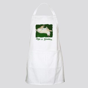 Life is Golden Puppy Apron