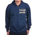Band Geek Zip Hoodie (dark)