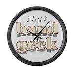 Band Geek Large Wall Clock