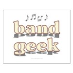 Band Geek Small Poster
