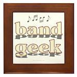 Band Geek Framed Tile