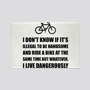 Handsome Ride Bike Magnets