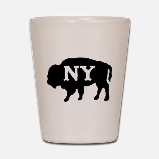 Buffalo New York Shot Glass