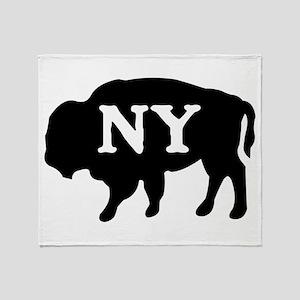 Buffalo New York Throw Blanket